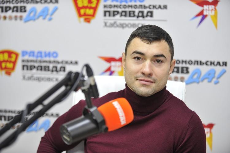 Константин Ефимов, главный тренер сборной Хабаровского края по спортивной борьбе
