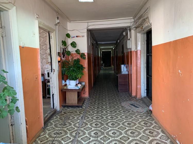 Коридор общежития, где убили Валеру