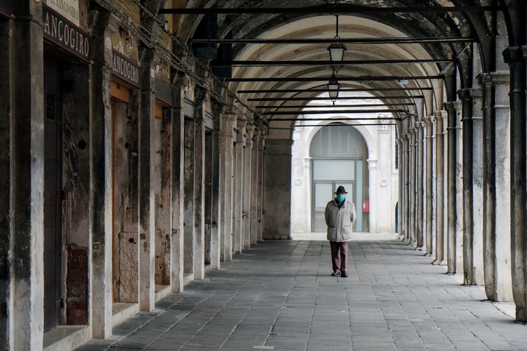 Пятый день карантина в Венеции