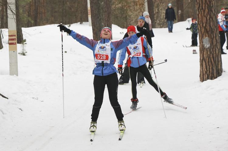 Лыжный марафон Черемное - Барнаул 2020