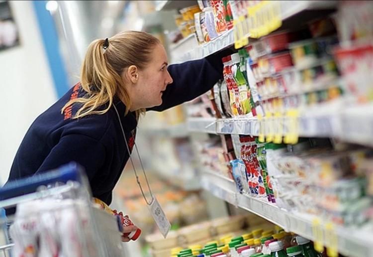 Крымчане ринулись в супермаркеты за продуктами. Фото: Архив КП