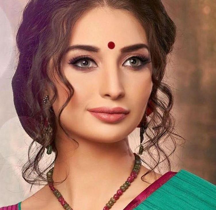 Лана Ворон приехала в Индию работать модель. Фото: личный архив Ланы Ворон.