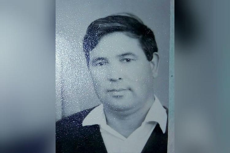 Биологический отец Нины Поддельской, с которым они очень похожи. Фото: личный архив.