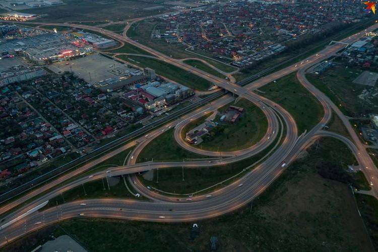 Развязка в районе Ростовского шоссе