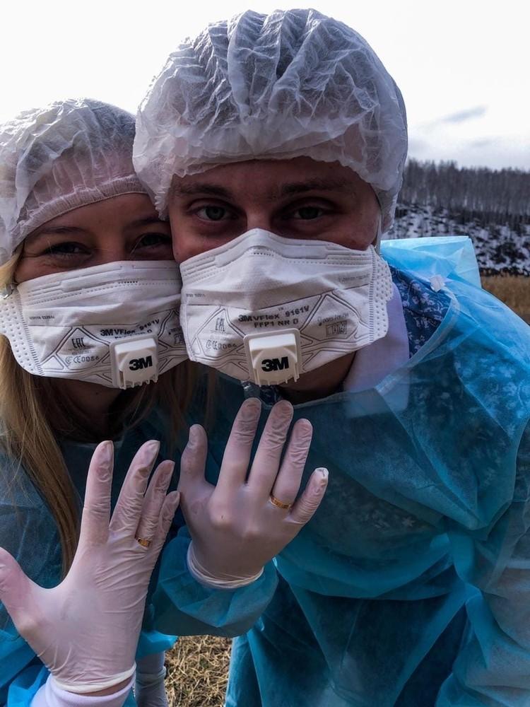 На фотосессию пара отправилась вдвоем. Фото: предоставлено Валерией Белоносовой.