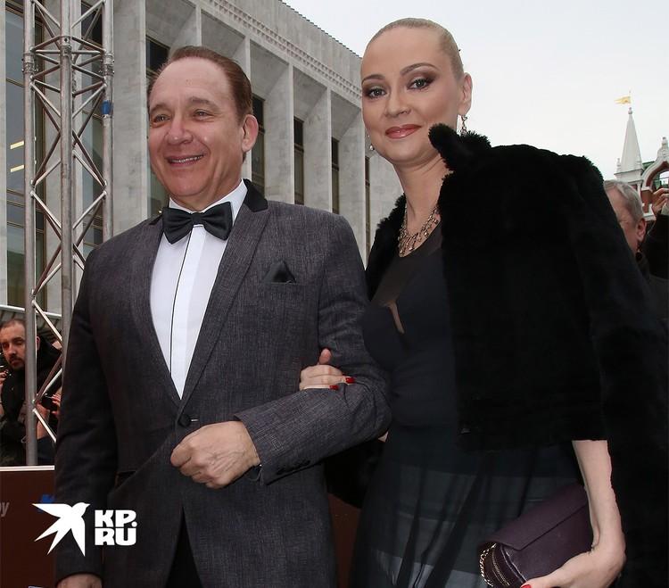 Максим Дунаевский с супругой Мариной, 2016 г.