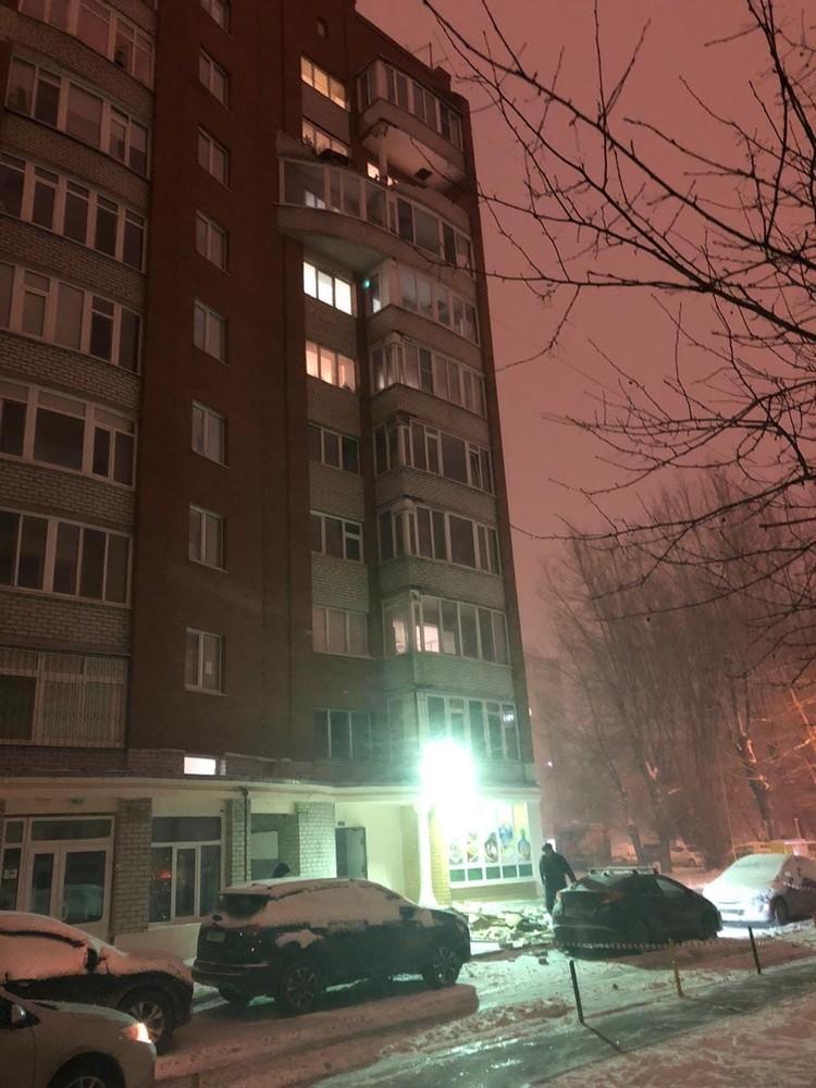 Балкон. Вид сверху. Фото: Ирина Демьяновская (ЧС Тюмень)