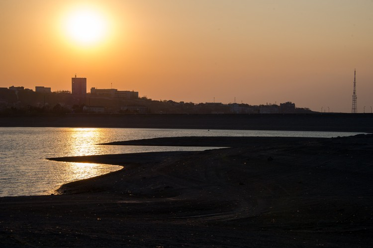 Текущая наполняемость водохранилища - около 36 миллионов кубометров
