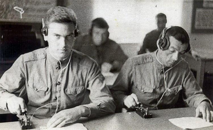 Петр Воронцов на занятиях по спецподготовке.