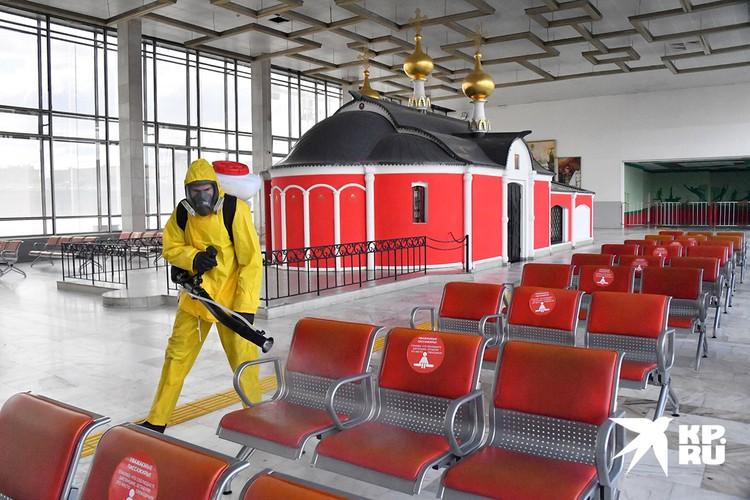 Работы на Белорусском вокзале.