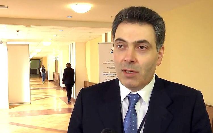 Врач-кардиолог, профессор, член-корреспондент РАН Симон Мацкеплишвили.