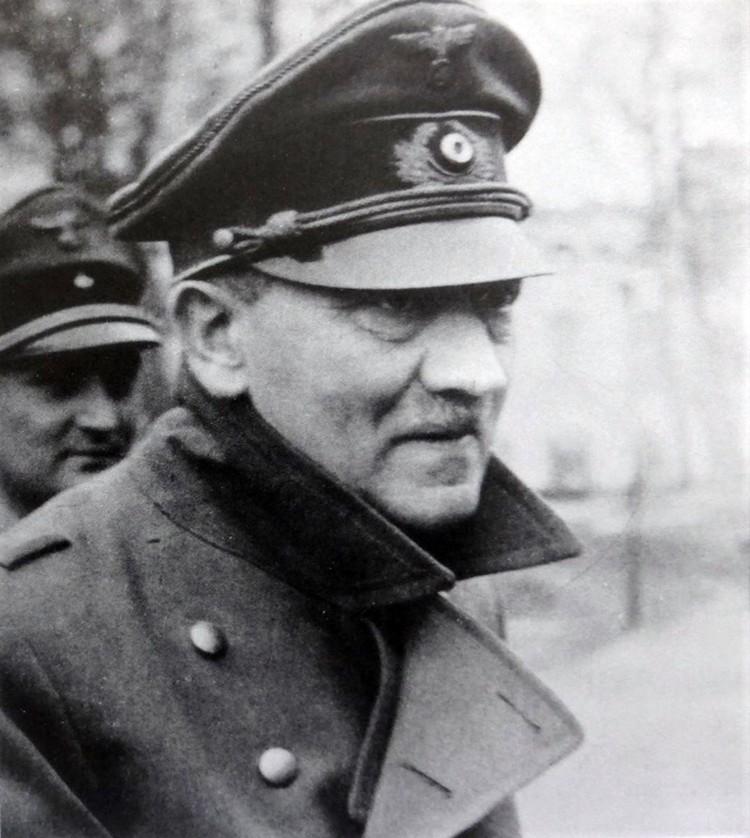 Один из последних прижизненных фотопортретов Адольфа Гитлера, сделанный в марте 1945 г. Фото: http://waralbum.ru