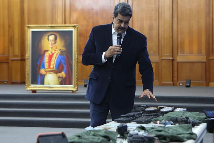 """Мадуро заявил, что его пытались ликвидировать в ходе этого самого """"морского вторжения"""""""