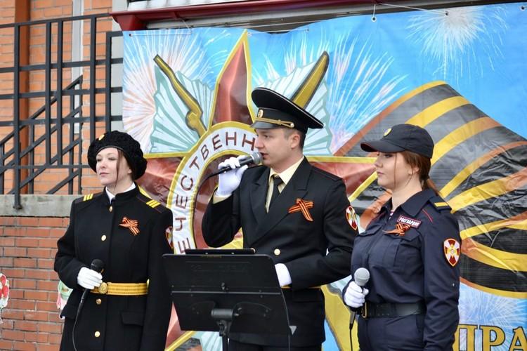 Росгвардейцы организовали настоящий концерт для героев войны. Фото: пресс-служба Управления Росгвардии по МО