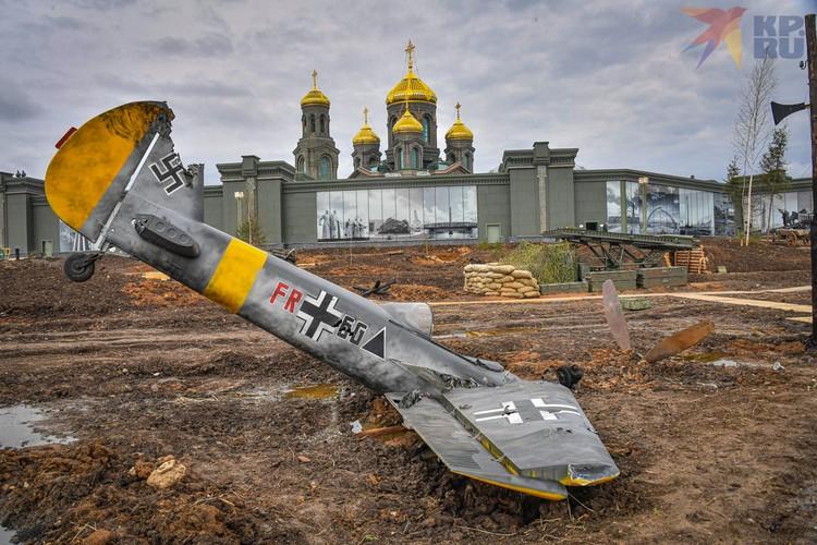 Храм построен к важной дате для русского народа - к 75-летию Победы