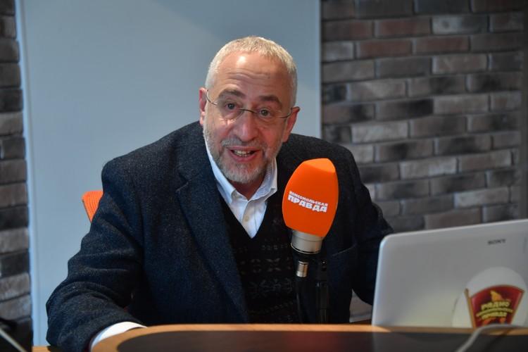 Историк Николай Сванидзе
