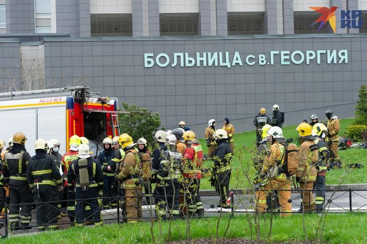 В больнице при пожаре погибли пятеро пациентов