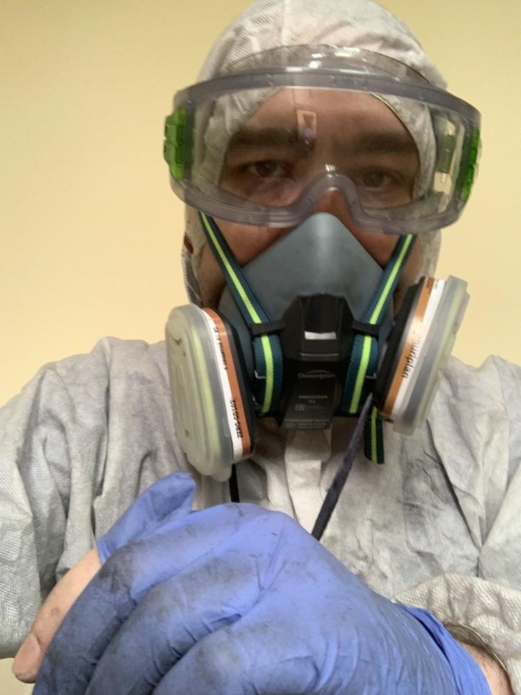 Фото врача после пожара