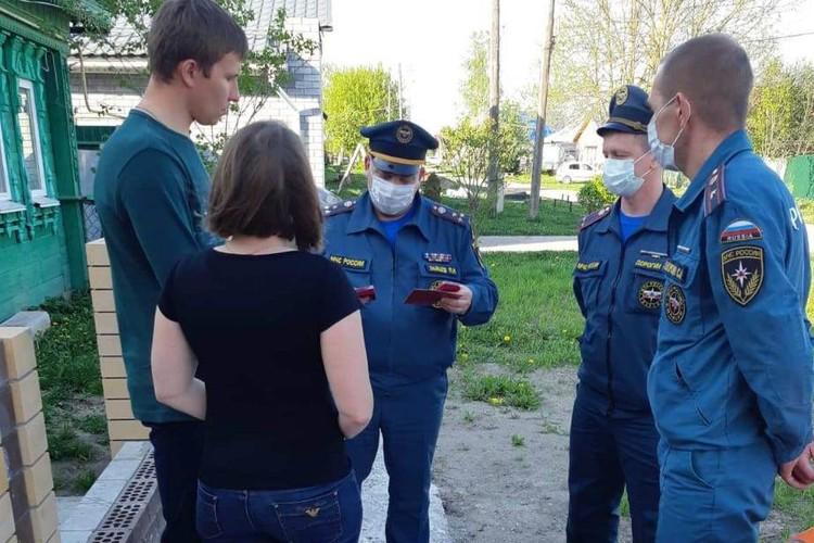 Фото предоставлено ГУ МЧС по Нижегородской области