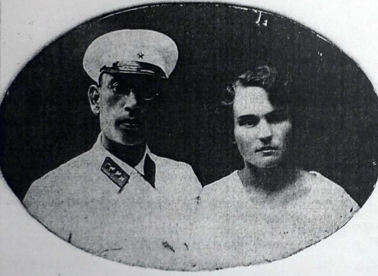 Еще одна любимая женщина генерала - его гражданская жена Анна Подмазенко.