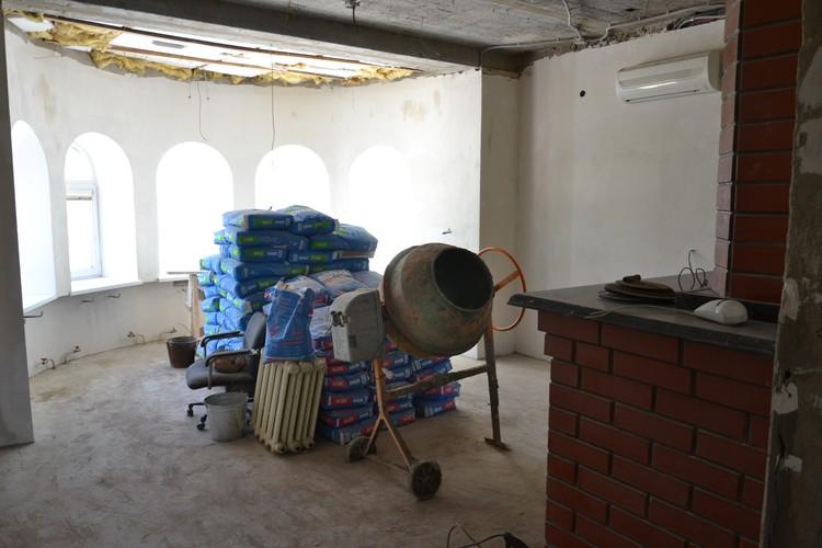 В здании идет ремонт Фото: предоставлено центром «Радуга»