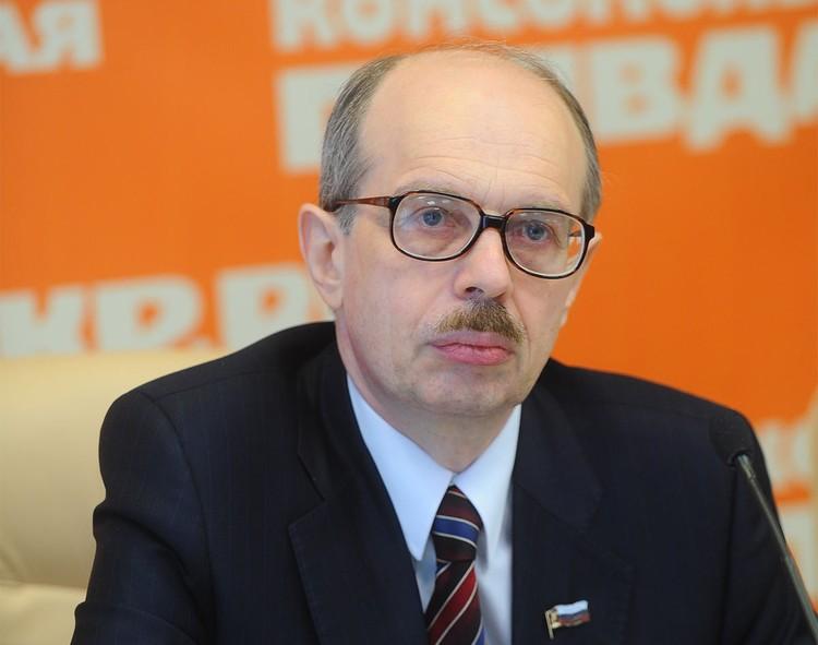 Правозащитник, юрист Леонид Ольшанский.