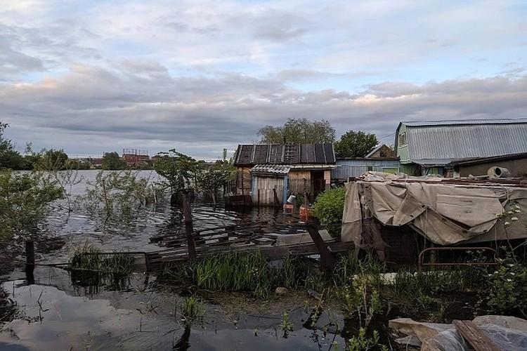 Фото: МЧС Татарстана. Потоп подействовал и на Набережные Челны