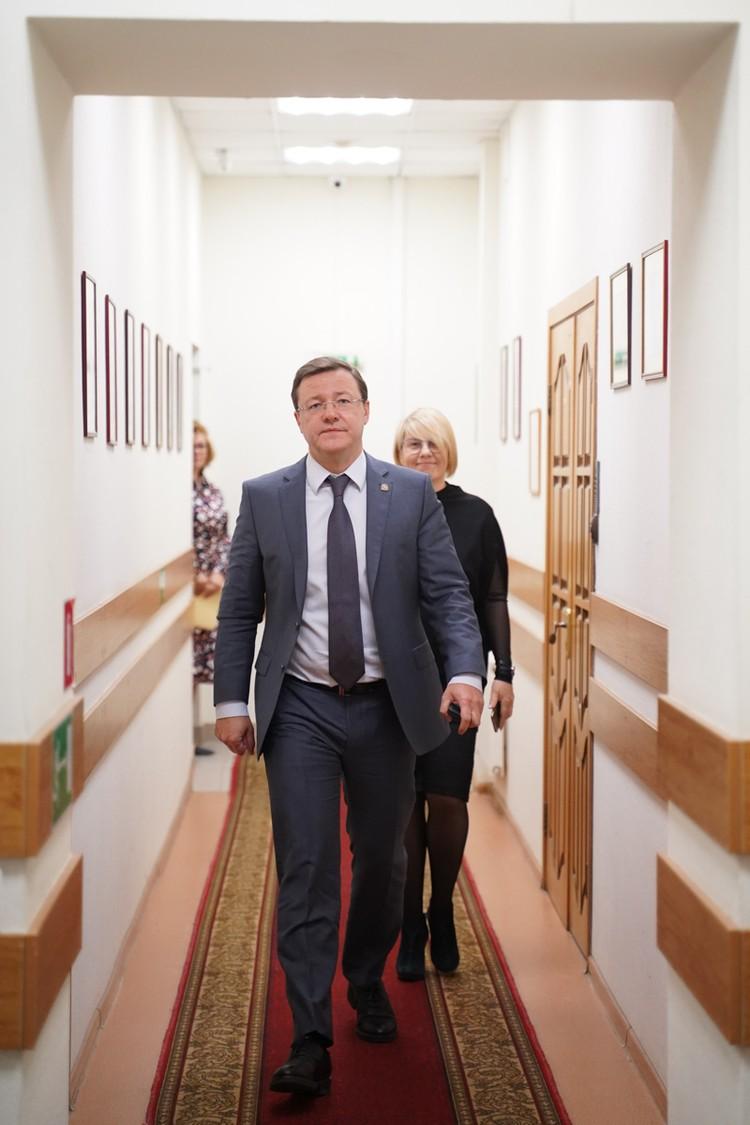 Дмитрий Азаров побывал в редакции КП-Самара