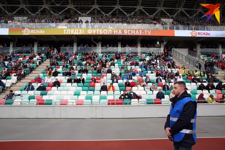 Матч посетили 5761 человек.