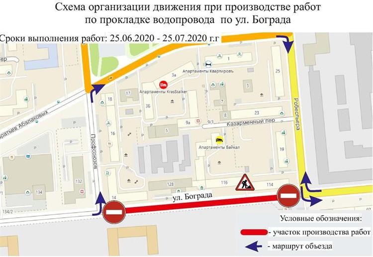 Улица Бограда.