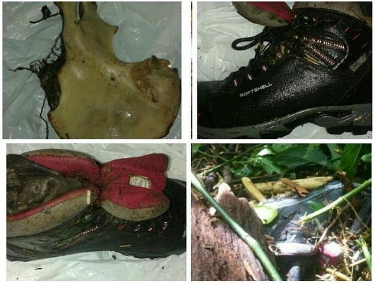 Следователи нашли фрагменты костей и ботинки со ступнями туристок