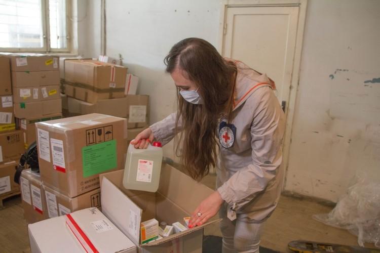 Донецкий офис Красного Креста сотрудничает со всеми организациями здравоохранения и больницами