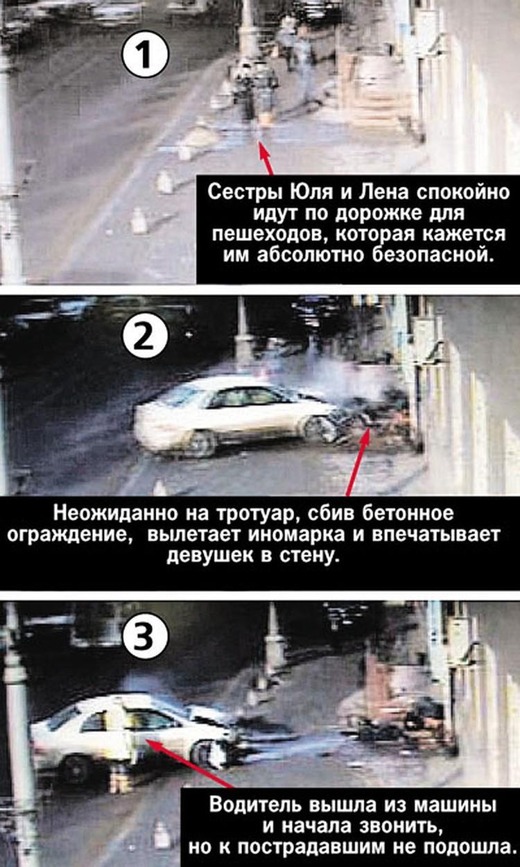 ДТП с участием Анны Шавенковой