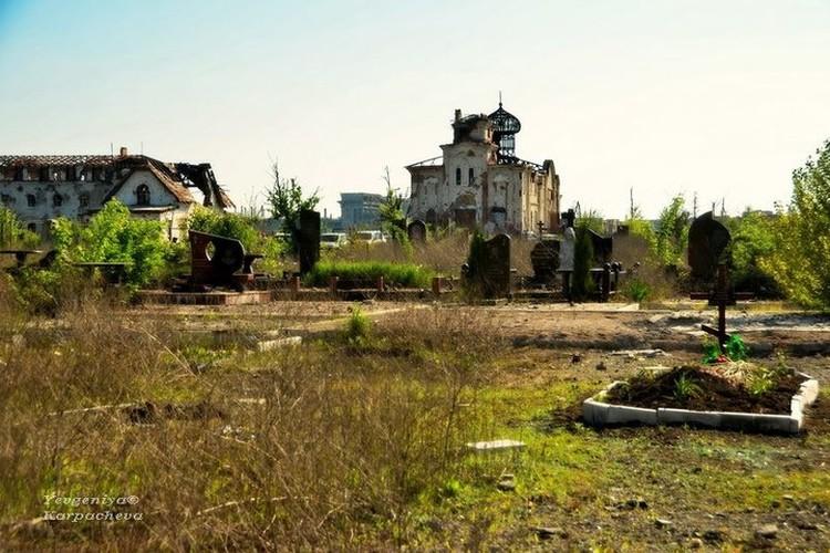 Донецк. Иверский монастырь в 2016 году. Фото: Евгении Карпачевой