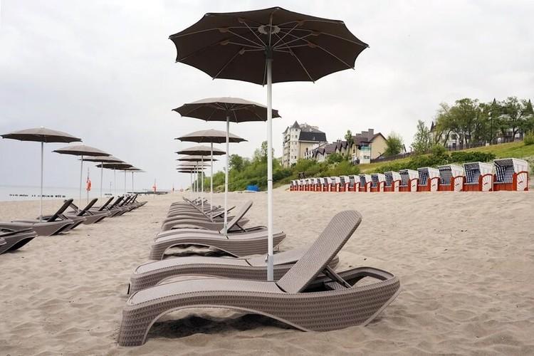 В западной части Зеленоградска появился пляж повышенной комфортности.