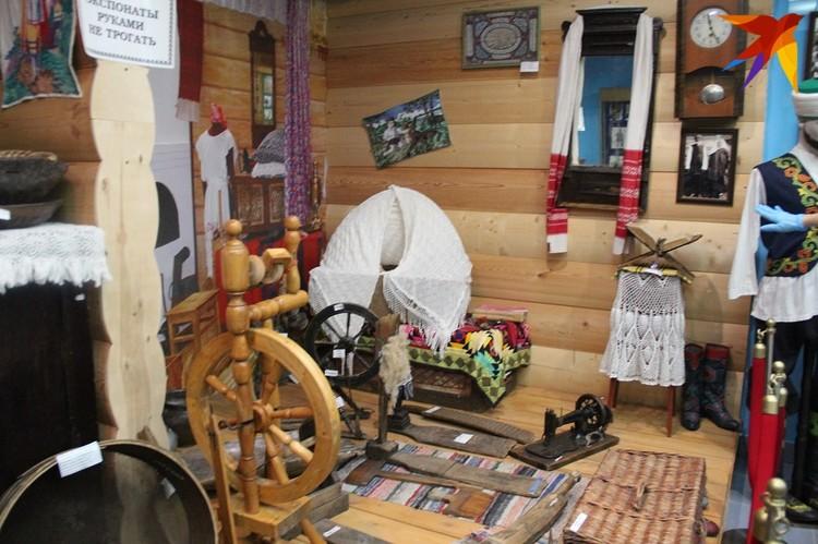 В краеведческом музее Камского Устья