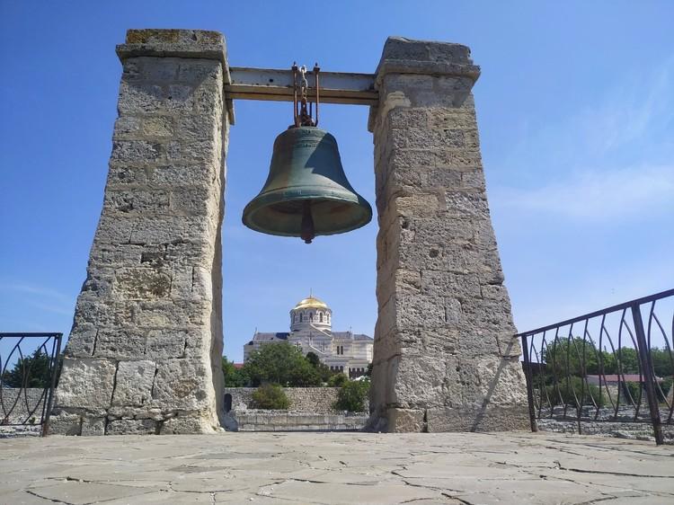 Один из символов Херсонеса - Туманный колокол