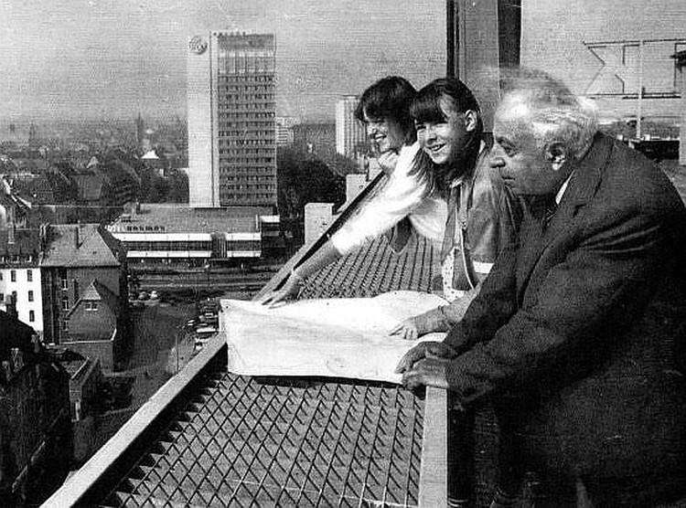 В Германии после войны. Фото из семейного архива Марутова