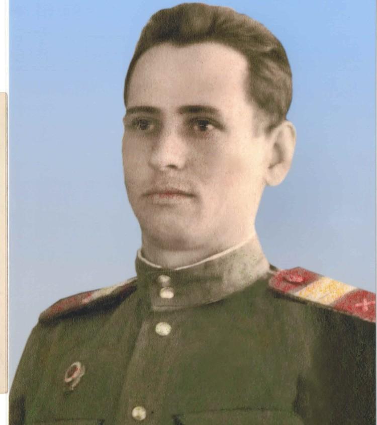 Иван Демьянович прошел боевой путь от Москвы до Кенигсберга.
