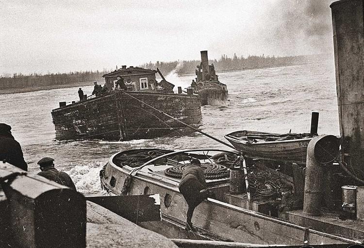 За время Великой Отечественной войны по Волге было перевезено 543 тысячи военнослужащих, гражданского населения и раненых. Фото: Борис КУДОЯРОВ/РИА Новости.