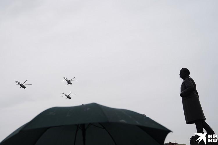 Воздушный Парад Победы стал настоящим подарком горожанам