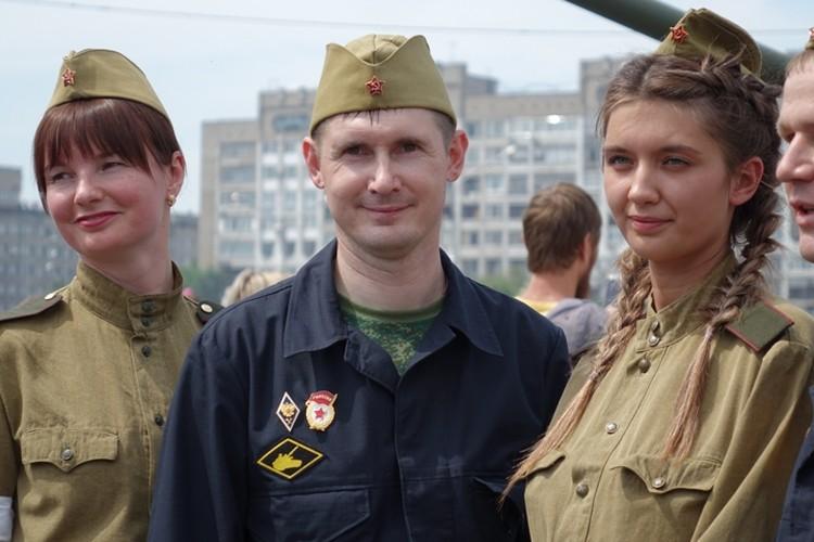 Александр Репников во время реставрации танка прочувствовал всю глубину и силу подвига советского народа.