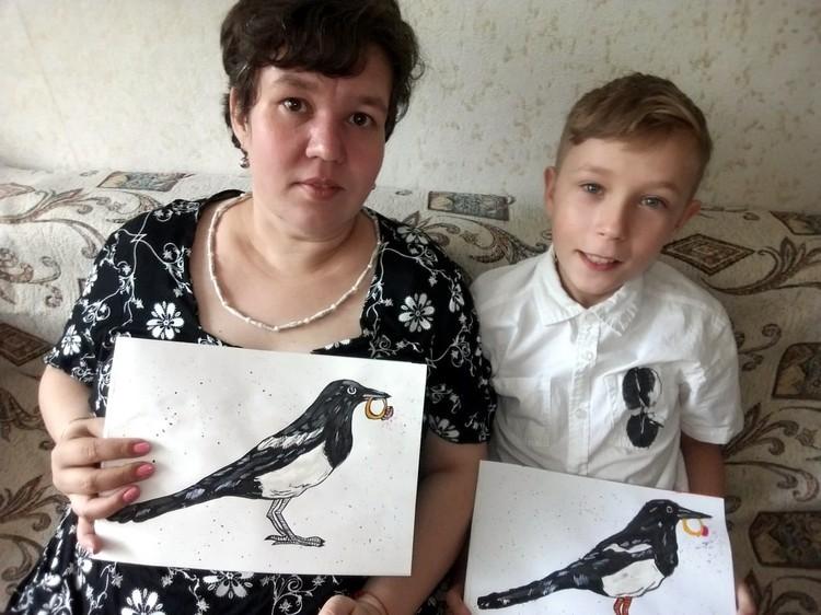 Савва с мамой Анной Владимировной. Фото соцсети.