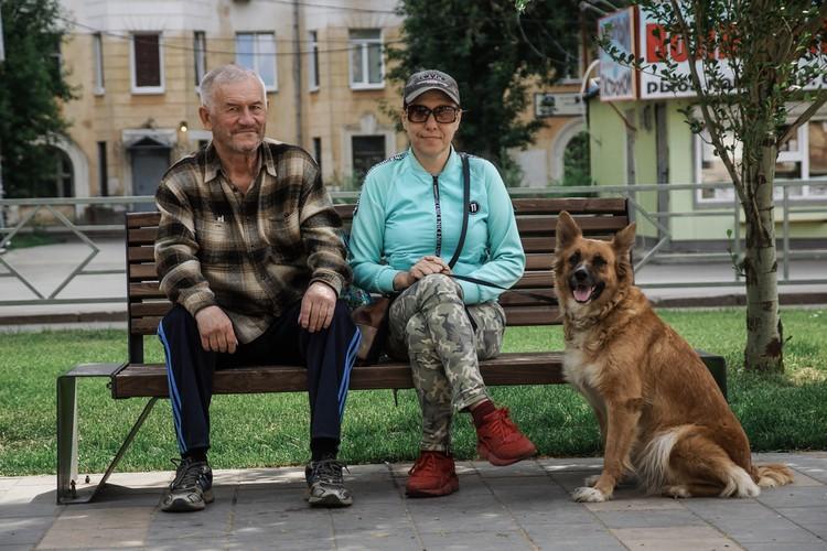 Иван (пенсионер) и Светлана (на пенсии по инвалидности)
