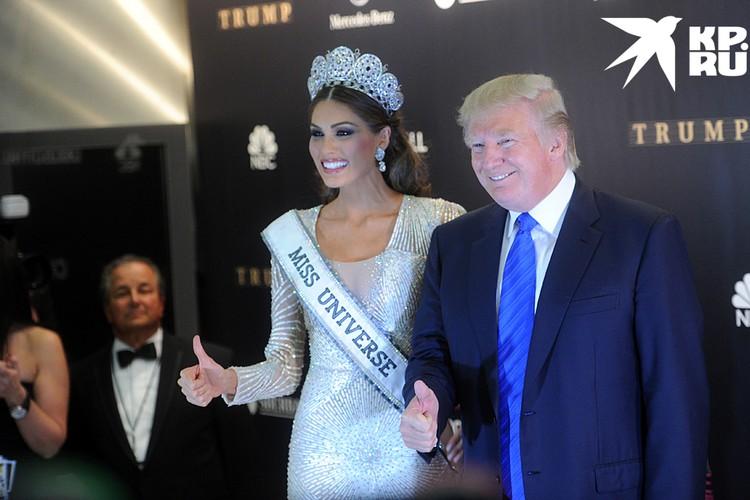 В 2013 году Дональд Трамп, тогда еще просто бизнесмен, приехал в Россию на конкурс «Мисс Вселенная»