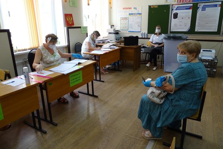 Голосование по поправкам в Конституцию в Липецке