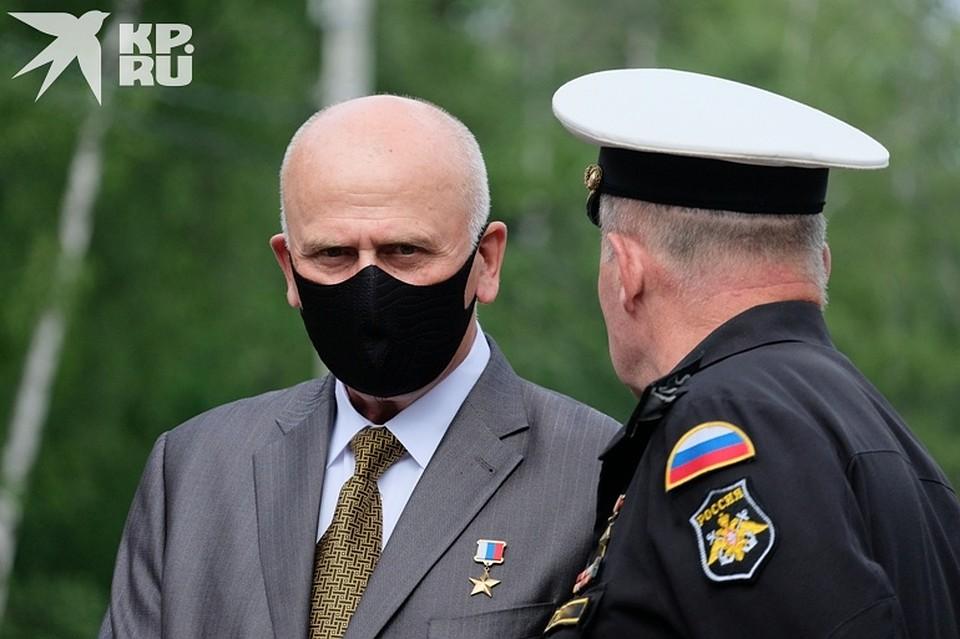 Александр Опарин - экс-начальника секретной части, потерял в трагедии единственного сына Фото: Артем КИЛЬКИН