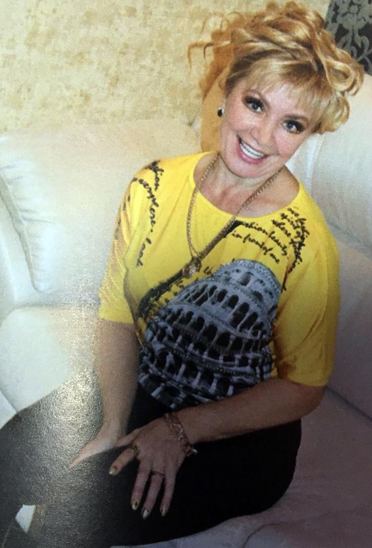 Алина Хохлова на свои 57 никак не выглядит