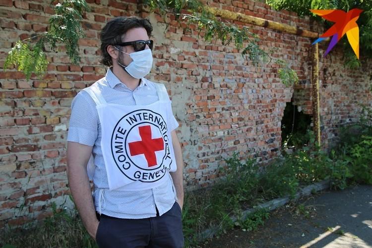 Руководитель Красного Креста в Донецке Сирил Жорена