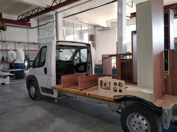 На производстве автодомов в Коломне есть, на что посмотреть